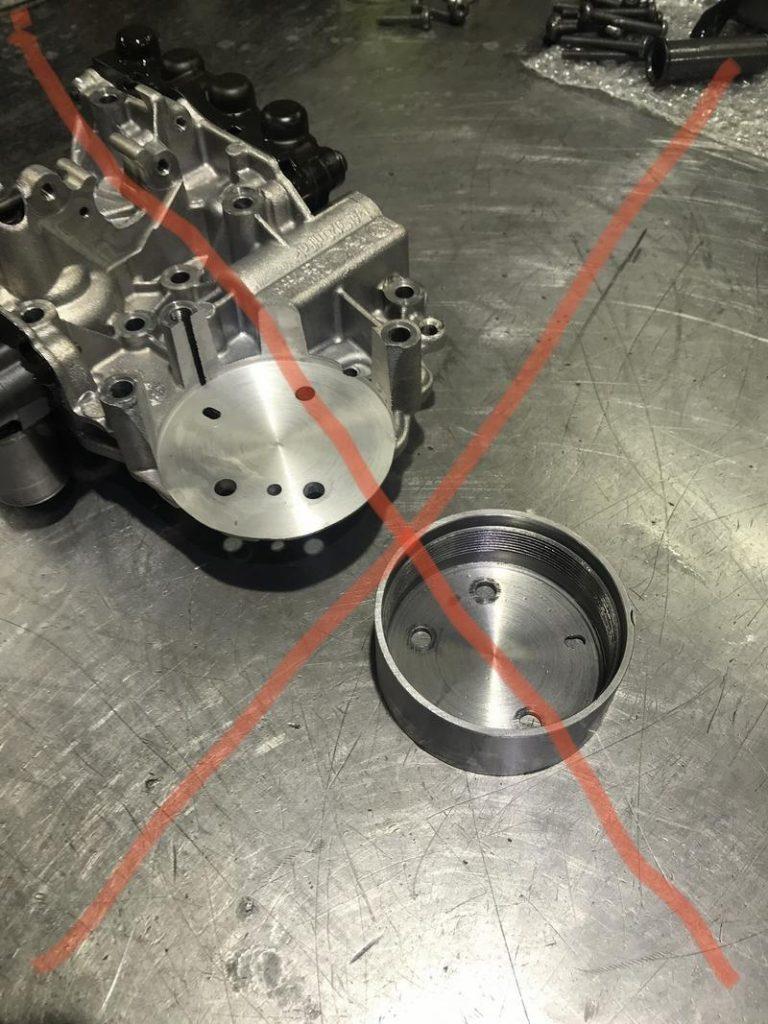 Как нельзя ремонтировать DSG