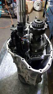 Отремонтированная механическая часть DSG 0B5 Audi Allroad A6